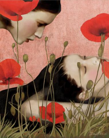 Dreaming in field of Poppies ©Daria Petrilli