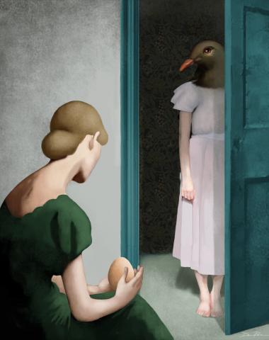 Senso di maternità ©Daria Petrilli